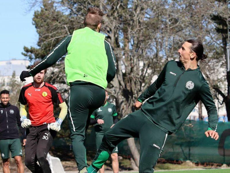 Ibrahimovic si allena in Svezia, ancora nessun rientro