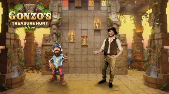 Caccia al tesoro di Gonzo di Evolution Gaming